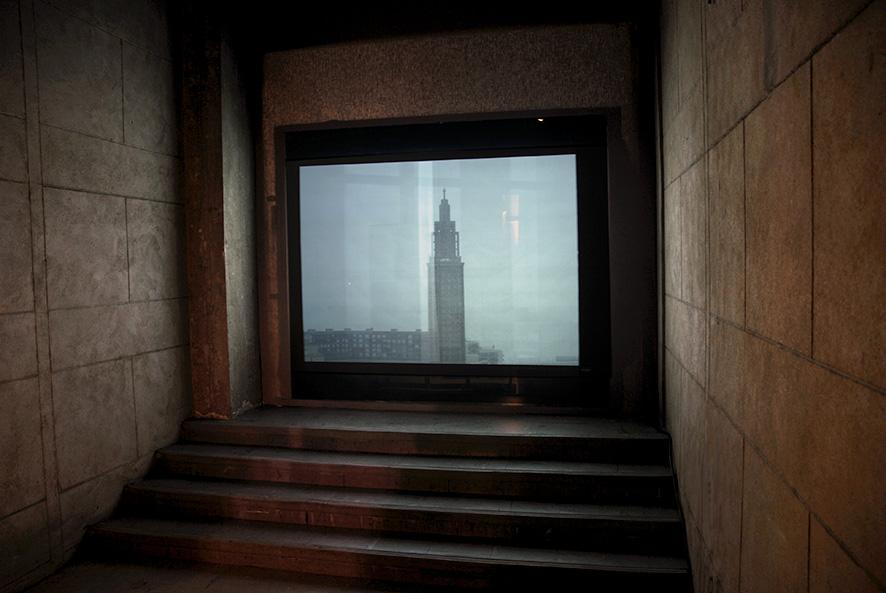 Empire, On ne choisit pas ses rêves (d'après Andy Warhol), Église Saint Joseph d'Auguste Perret, Installation vidéo sur la « starification » du centre reconstruit de la ville du Havre, «Presents(s)», parcours d'expositions 2006.