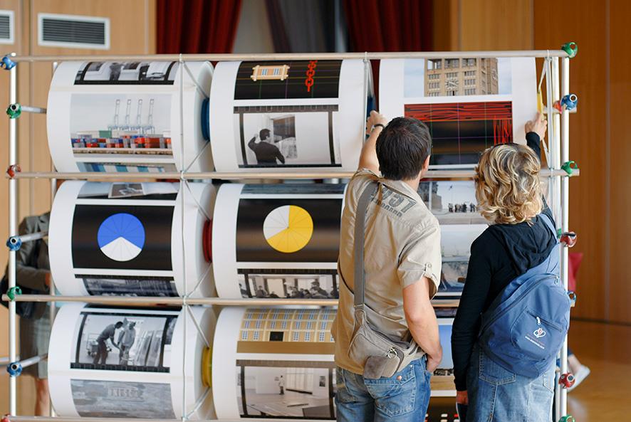 Machine des Jeux, «Present(s)», parcours d'expositions, Arnaud Jammet 2006.